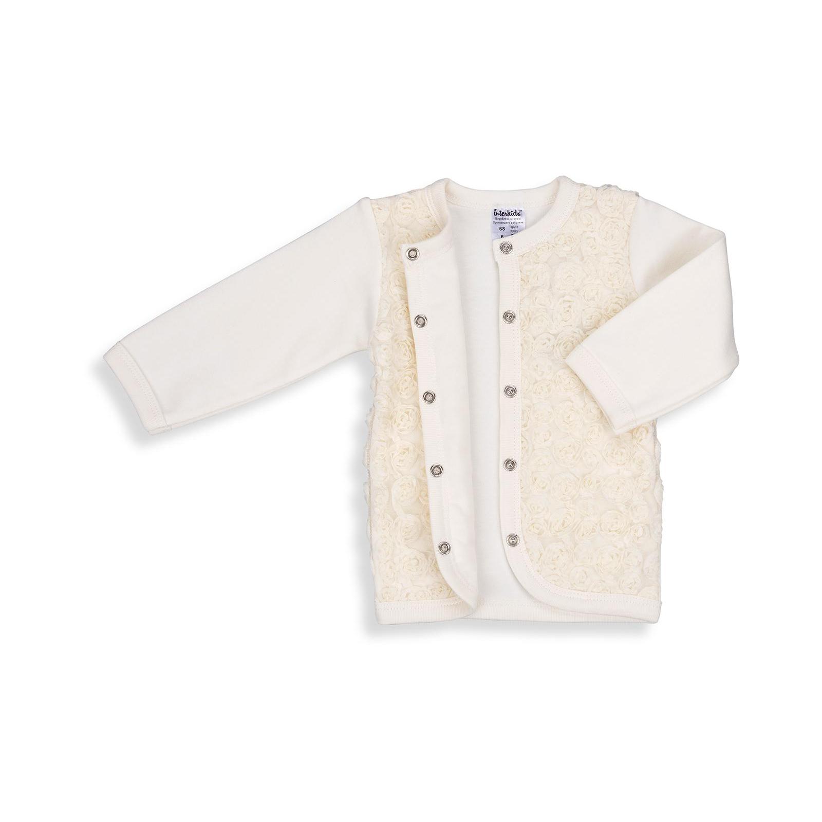 Набор детской одежды Интеркидс с розочками (2364-74G-beige) изображение 10