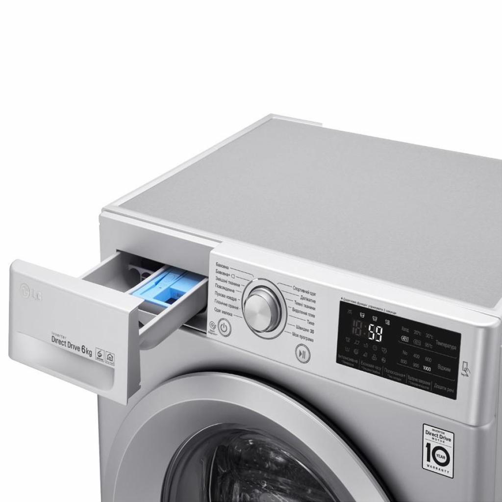 Стиральная машина LG F0J5NN4L изображение 8