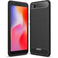 Чехол для моб. телефона Laudtec для Xiaomi Redmi 6A Carbon Fiber (Black) (LT-R6AB)