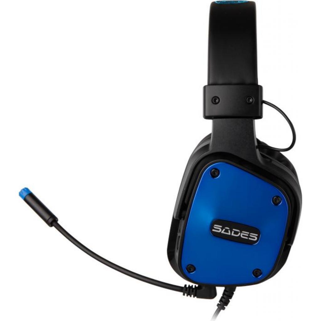 Наушники SADES Dpower Black/Blue (SA722-B-BL) изображение 2