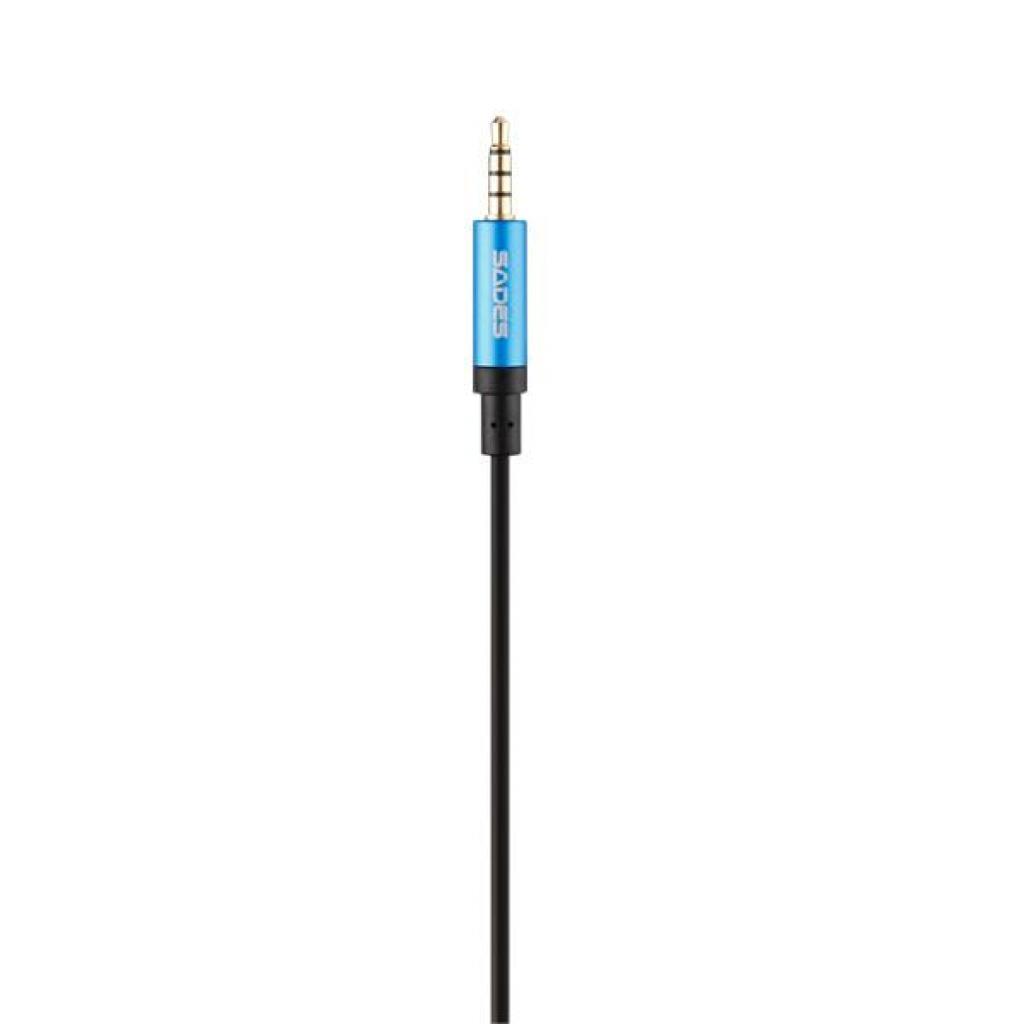 Наушники SADES Dpower Black/Blue (SA722-B-BL) изображение 8