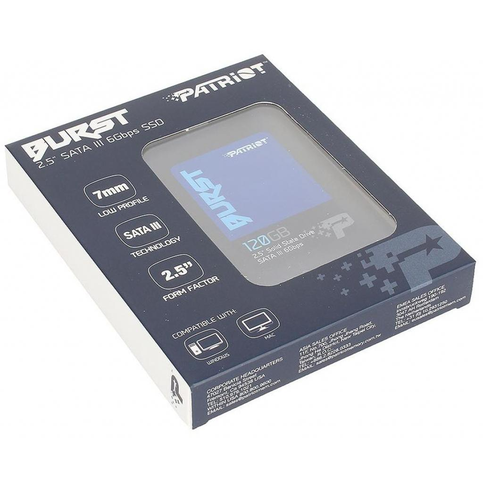 """Накопитель SSD 2.5"""" 120GB Patriot (PBU120GS25SSDR) изображение 8"""