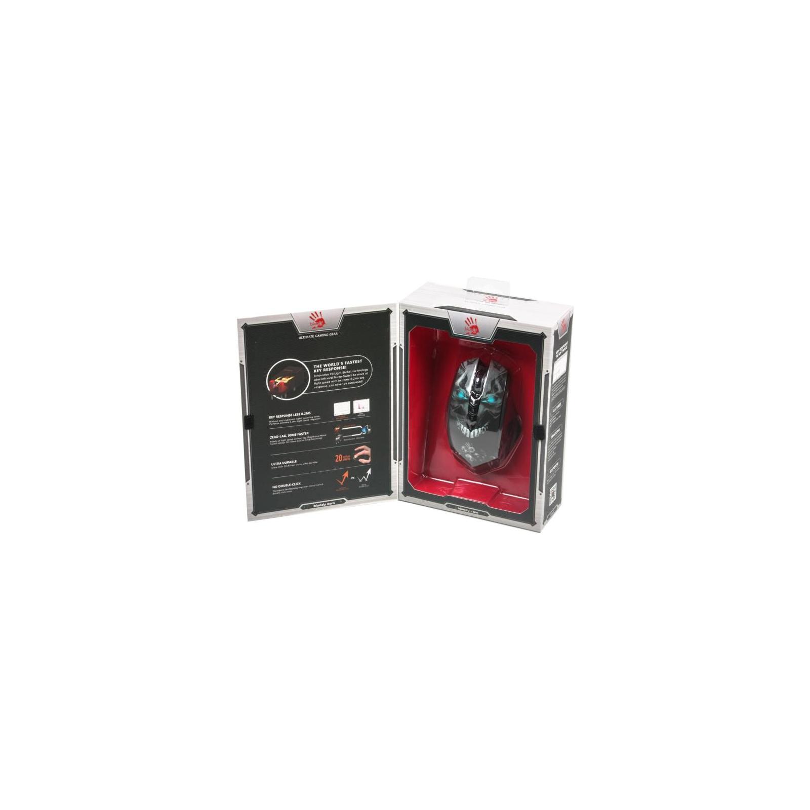 Мышка A4tech Bloody R80A Skull изображение 5