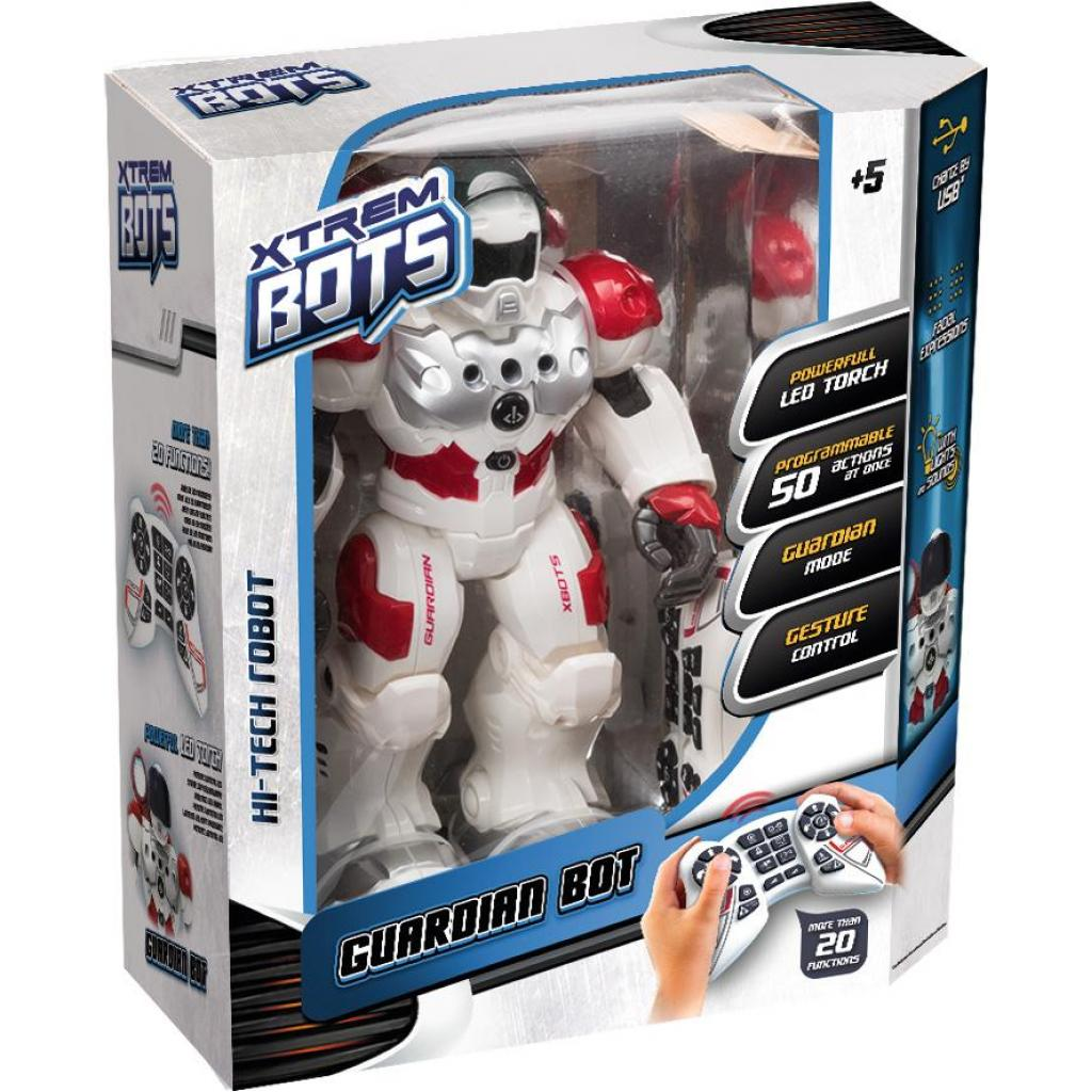 Интерактивная игрушка Blue Rocket робот Защитник (XT380771) изображение 5