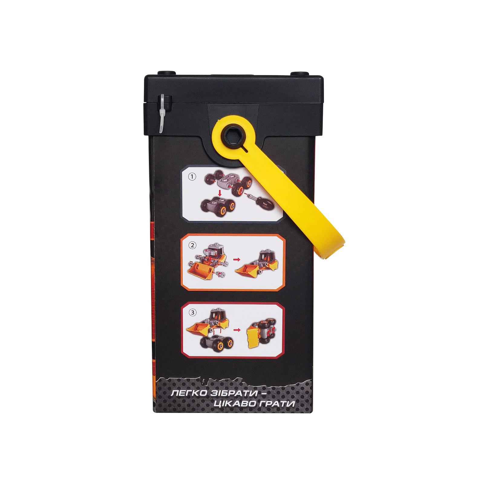 Конструктор Microlab Toys Строительная техника - трактор (MT8910) изображение 4
