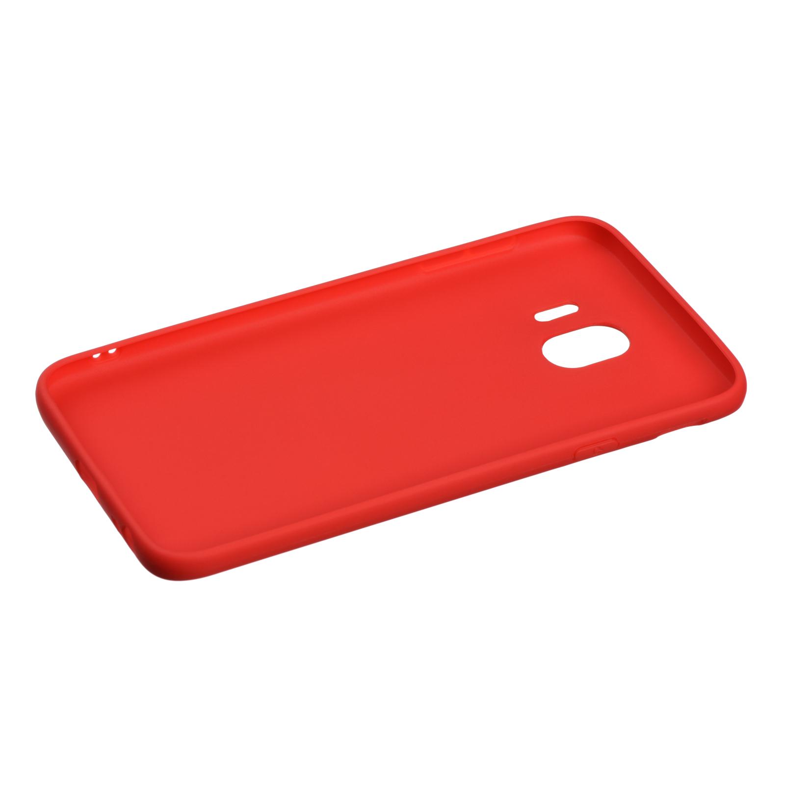 Чохол до моб. телефона 2E Samsung Galaxy J4 2018 (J400) , Soft touch, Red (2E-G-J4-18-NKST-RD) зображення 2