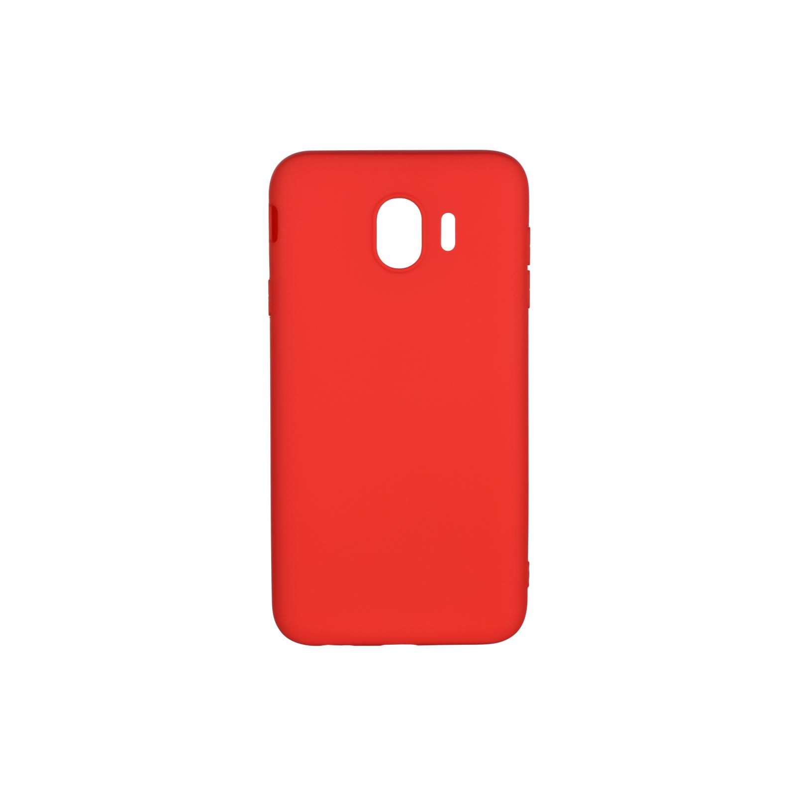 Чохол до моб. телефона 2E Samsung Galaxy J4 2018 (J400) , Soft touch, Red (2E-G-J4-18-NKST-RD)