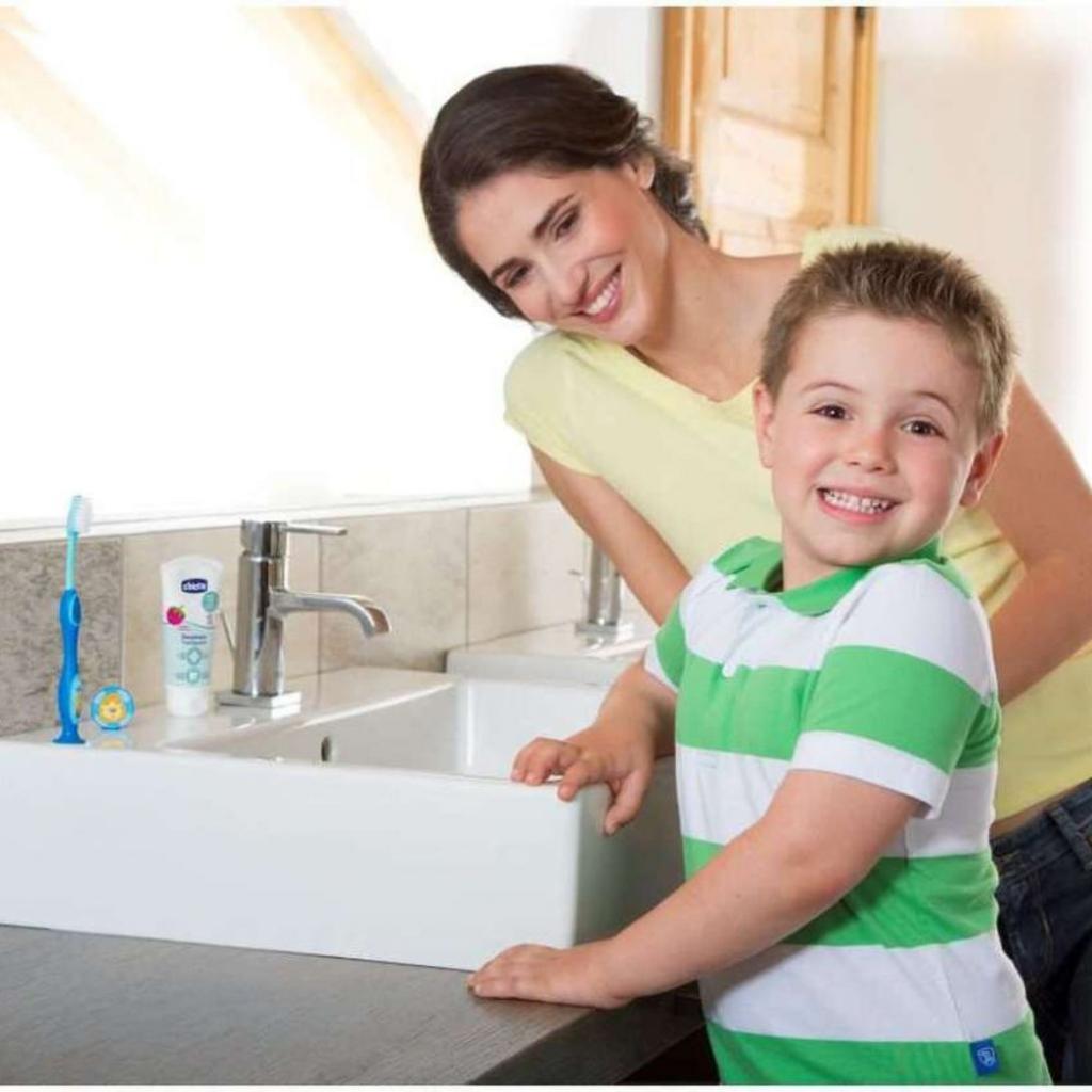 Детская зубная щетка Chicco Зеленая (2900990799879) (09079.20.20) изображение 4