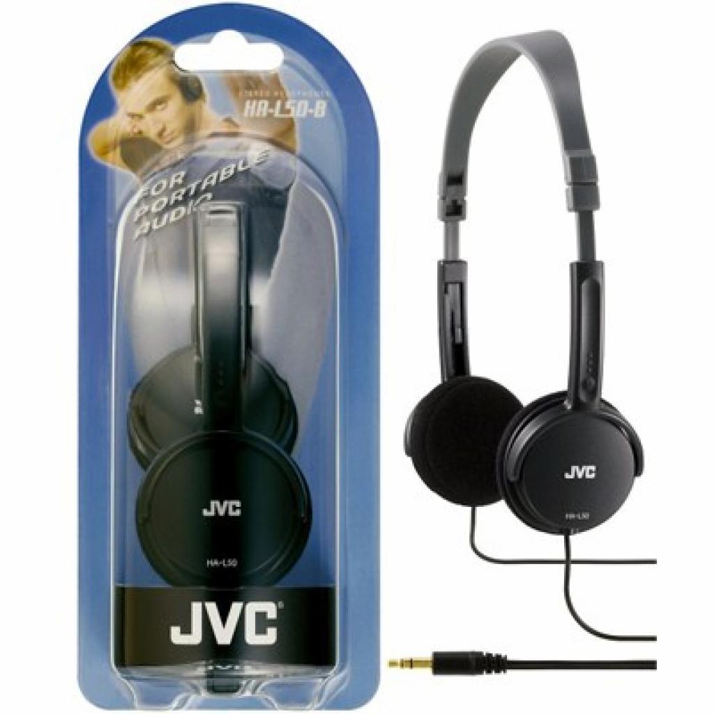 Наушники JVC HA-L50 Black (HA-L50-B)
