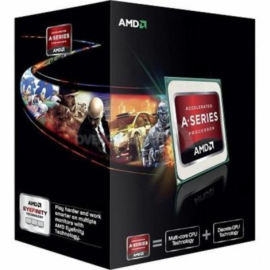 Процессор AMD A10-5800K X4 (AD580KWOHJBOX)