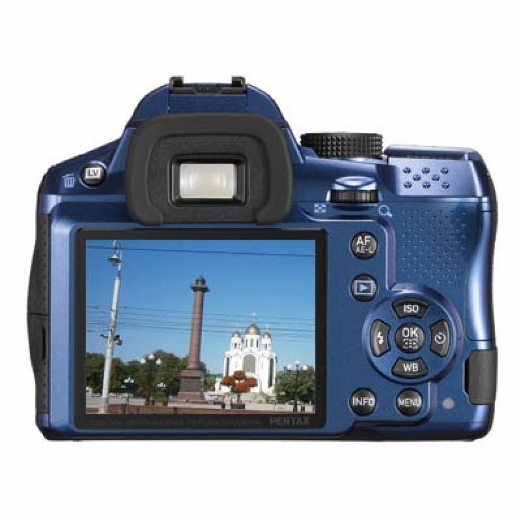 Цифровой фотоаппарат Pentax K-30 blue body (15697) изображение 2