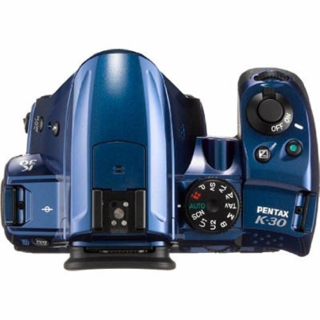 Цифровой фотоаппарат Pentax K-30 blue body (15697) изображение 3