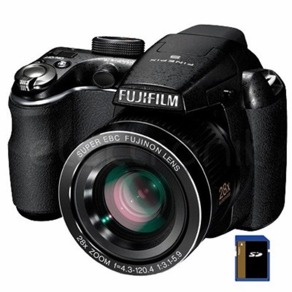 Цифровой фотоаппарат Fujifilm FinePix S2980 black (16204062)