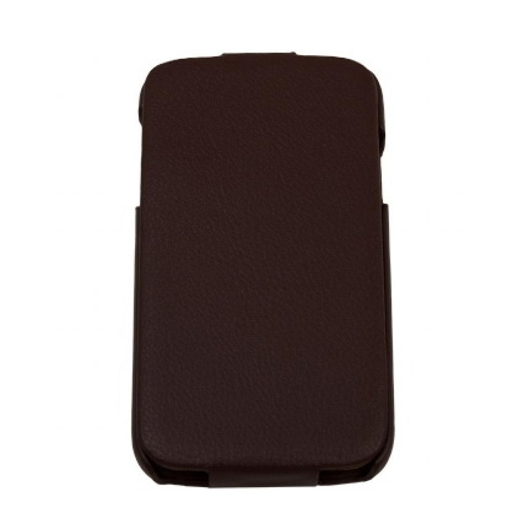Чехол для моб. телефона Drobak для Samsung I9500 Galaxy S4 /Business-flip Brown (215244)