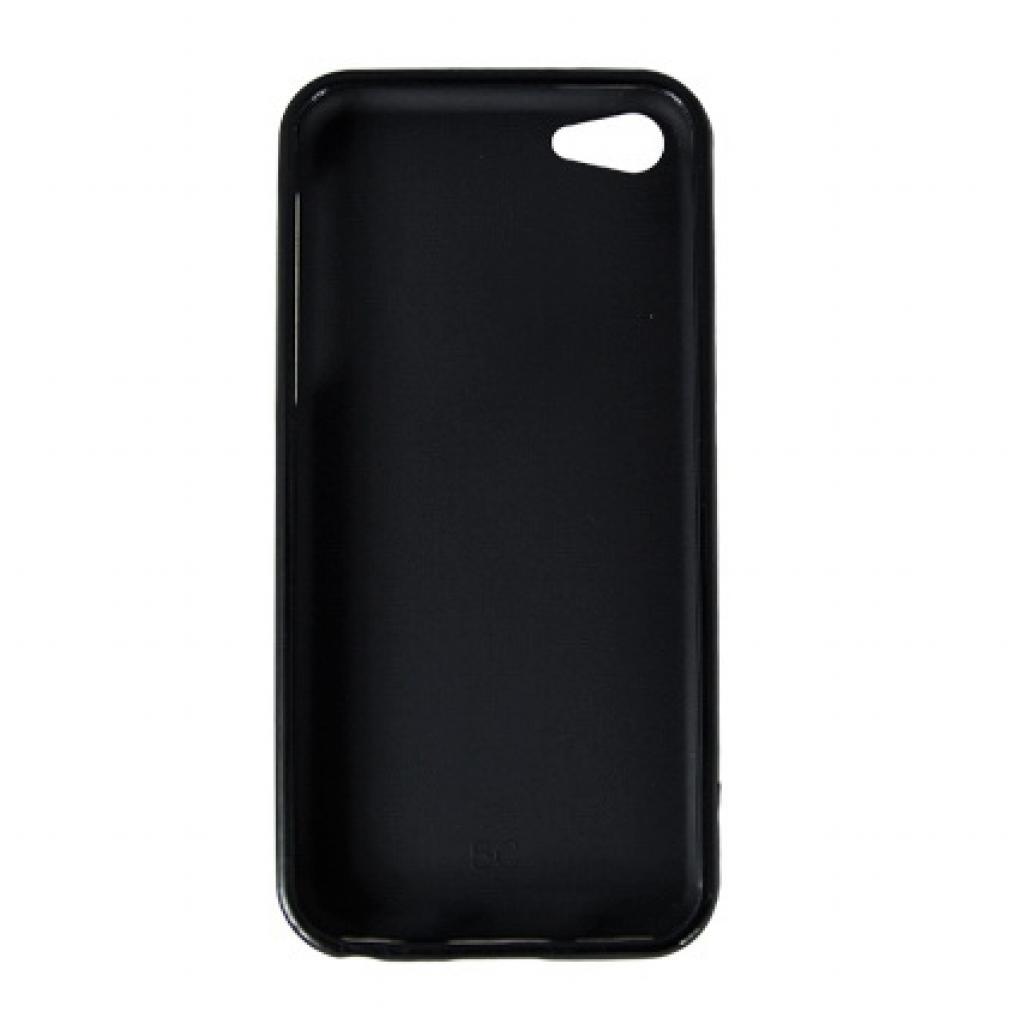 Чехол для моб. телефона Drobak для Apple Iphone 5c /Elastic PU/Black (210239) изображение 2