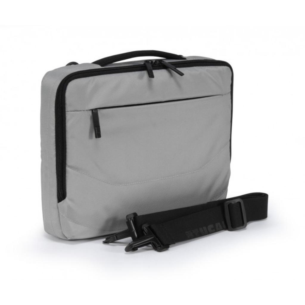 """Сумка для ноутбука Tucano 10"""" Slim case/Silver (BNW10-SL) изображение 2"""