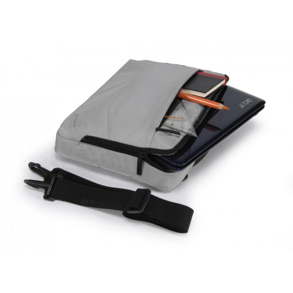"""Сумка для ноутбука Tucano 10"""" Slim case/Silver (BNW10-SL) изображение 3"""