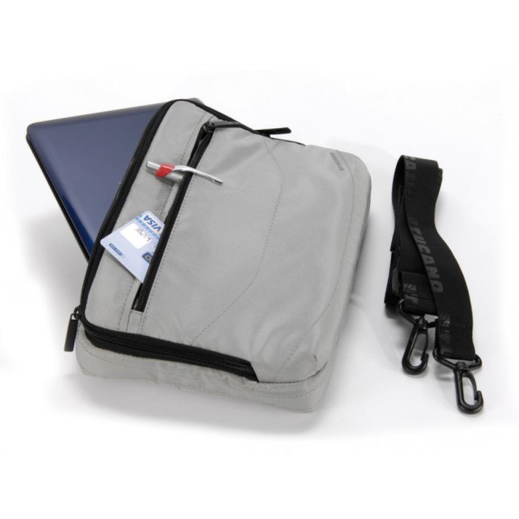 """Сумка для ноутбука Tucano 10"""" Slim case/Silver (BNW10-SL) изображение 4"""