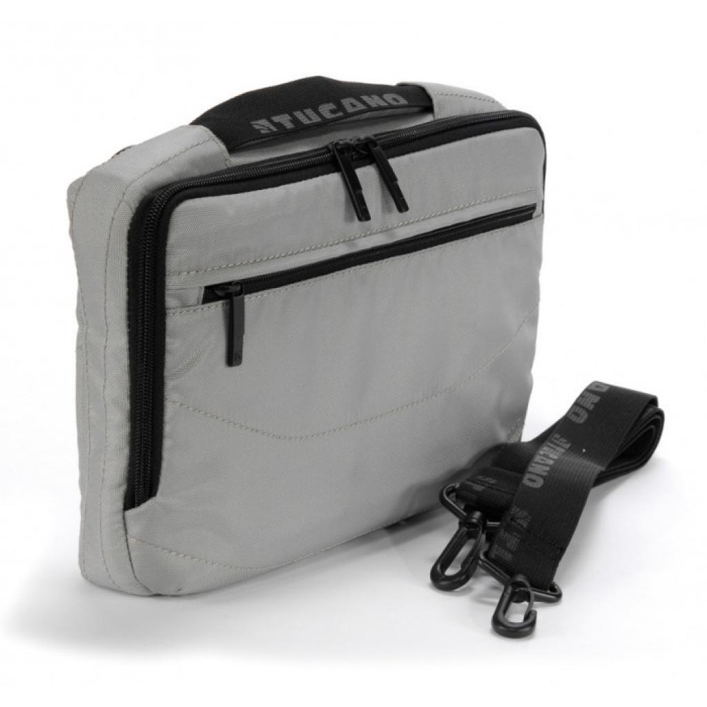 """Сумка для ноутбука Tucano 10"""" Slim case/Silver (BNW10-SL) изображение 5"""