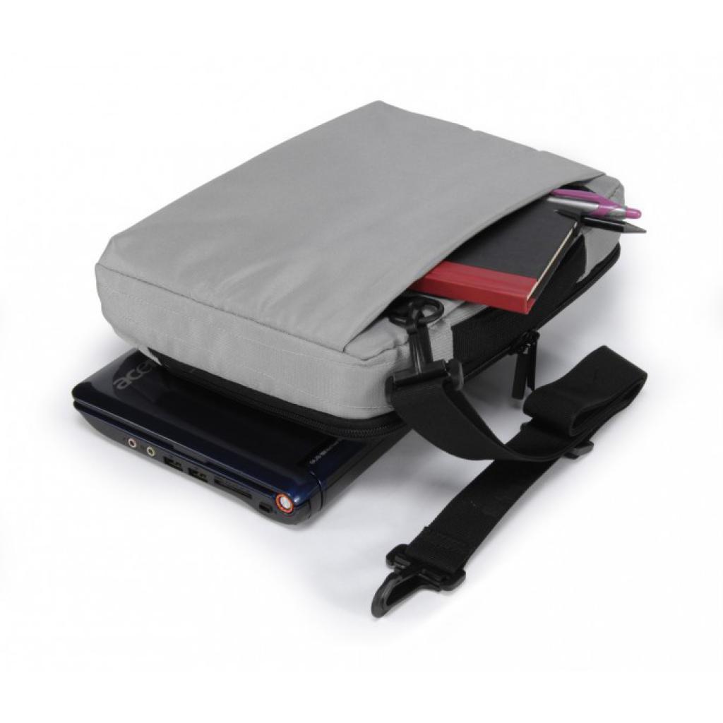"""Сумка для ноутбука Tucano 10"""" Slim case/Silver (BNW10-SL) изображение 7"""
