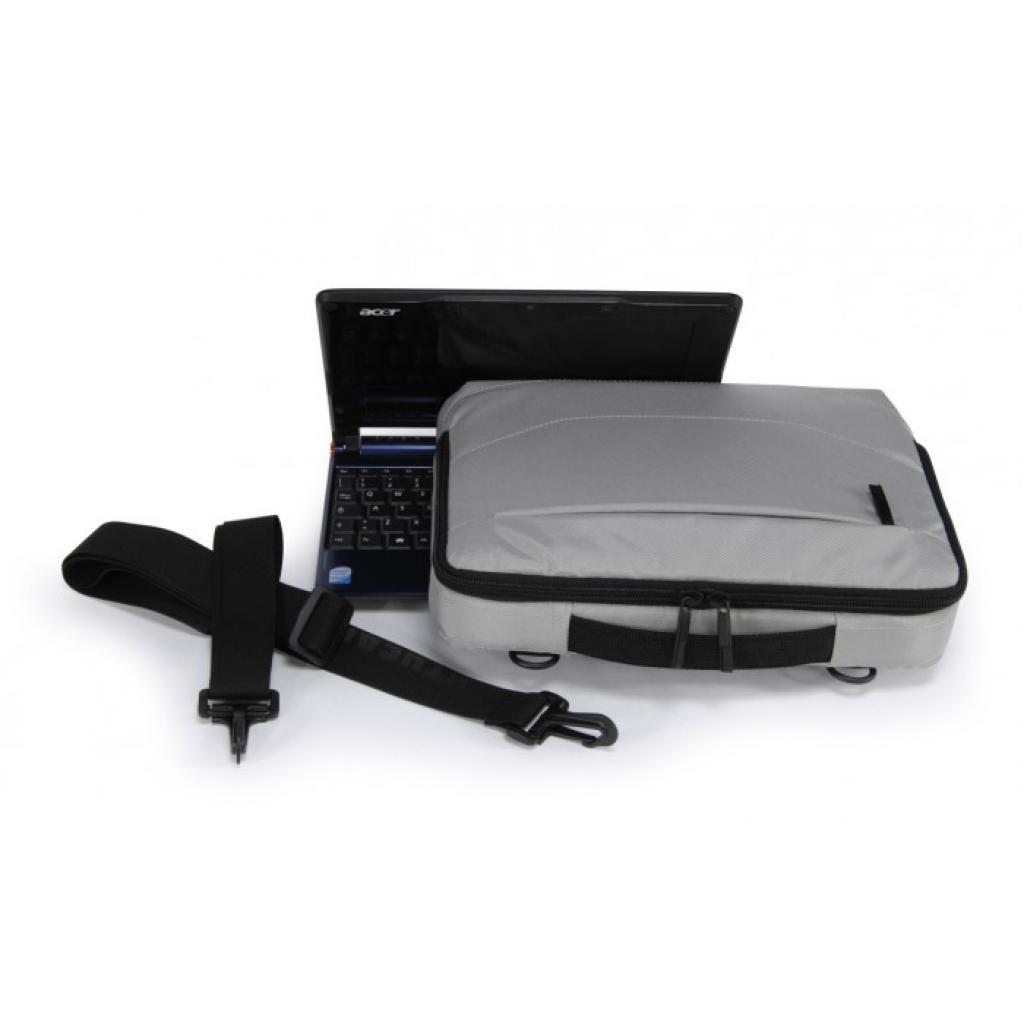 """Сумка для ноутбука Tucano 10"""" Slim case/Silver (BNW10-SL) изображение 8"""