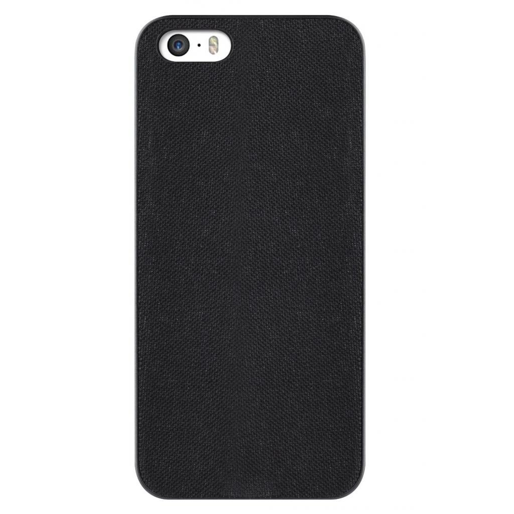 Чехол для моб. телефона OZAKI iPhone 5/5S O!coat 0.3+ Canvas ultra slim Black (OC543BK)
