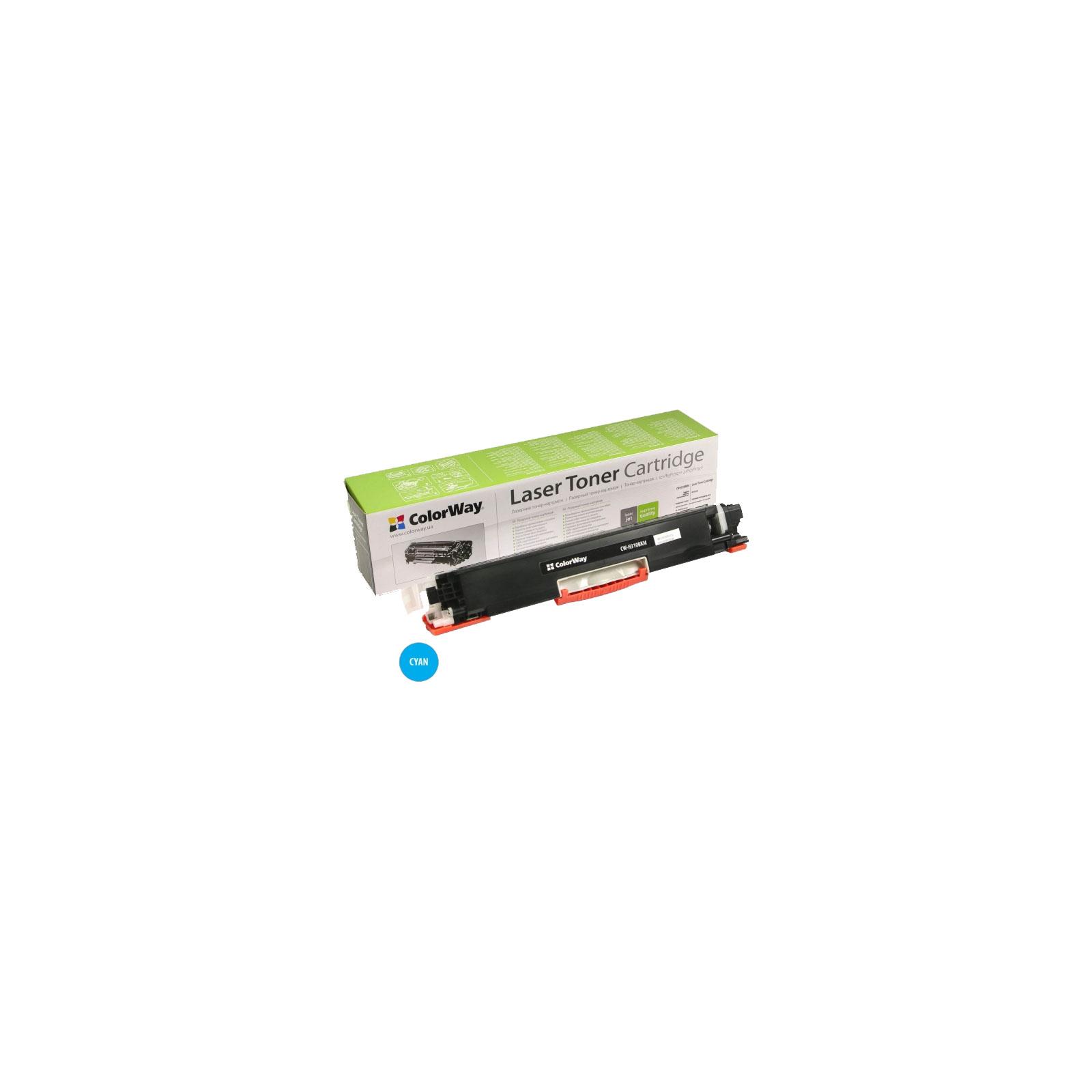 Картридж ColorWay для HP CLJ CP1025 Cyan (CE311A) (CW-H311CM)