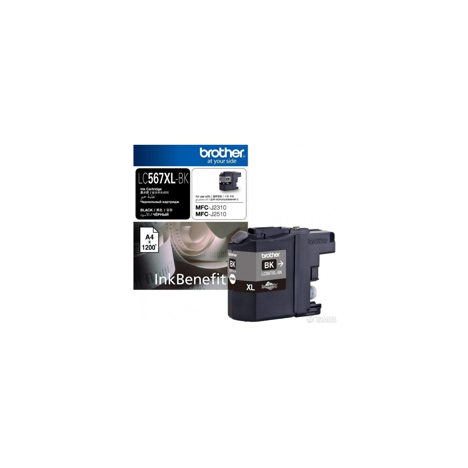 Картридж Brother MFC-J2310 XL black (LC567XLBK)