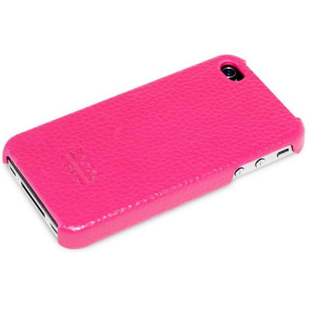 Чехол для моб. телефона HOCO для iPhone 4/4S /Duke Back (HI-BL001 Rose Red)