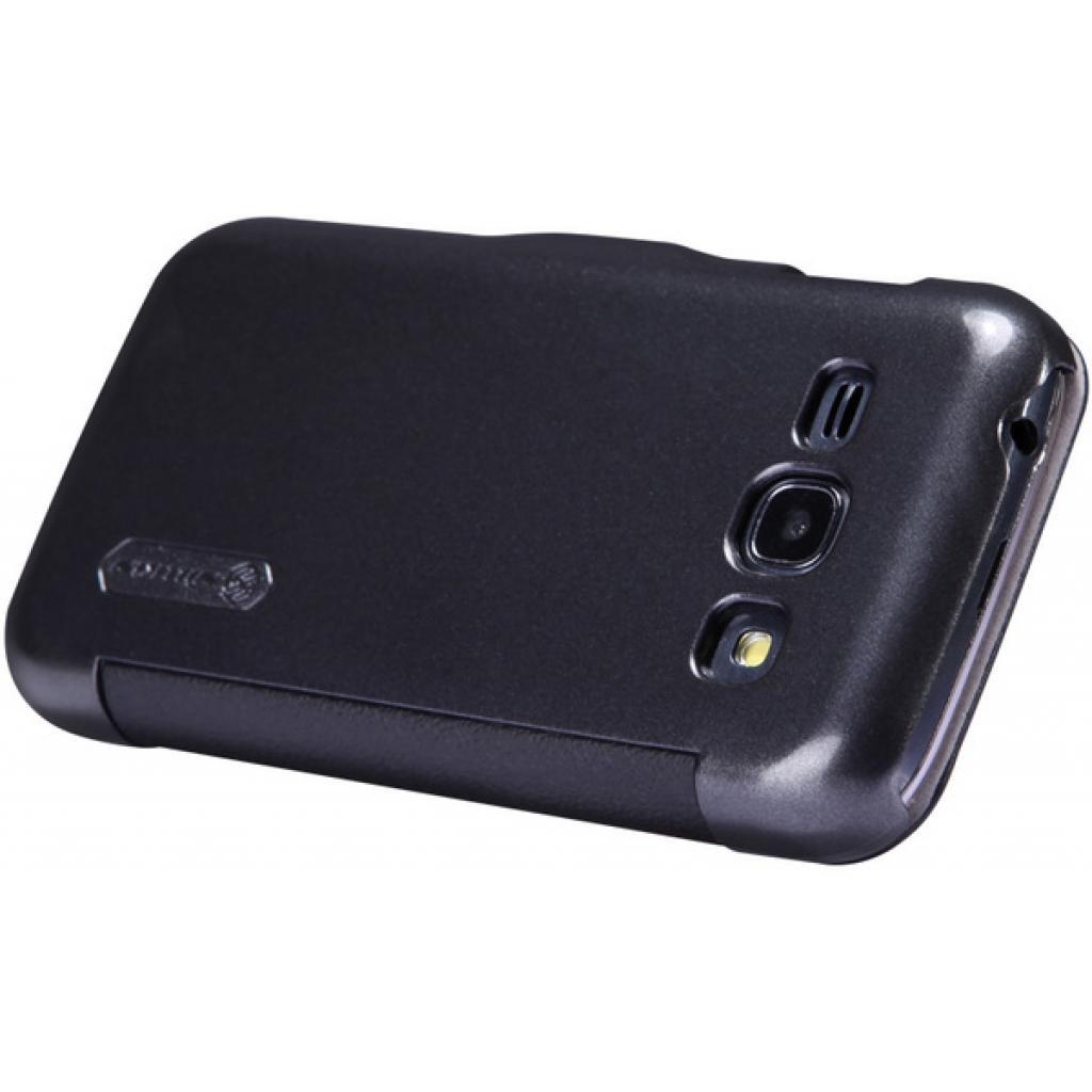 Чехол для моб. телефона NILLKIN для Samsung S7272 /Fresh/ Leather/Black (6076973) изображение 3