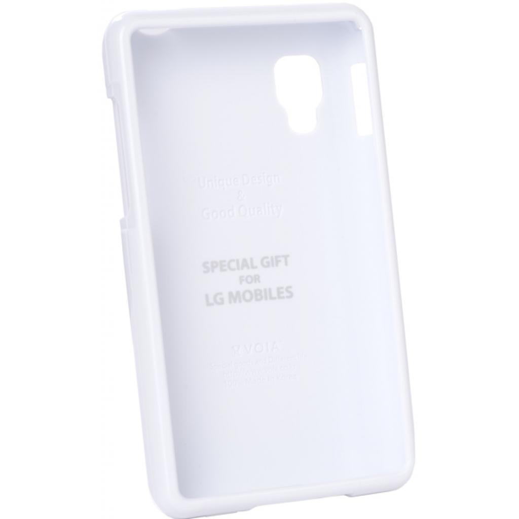 Чехол для моб. телефона VOIA для LG E440 Optimus L4II /Jelly/White (6068179)