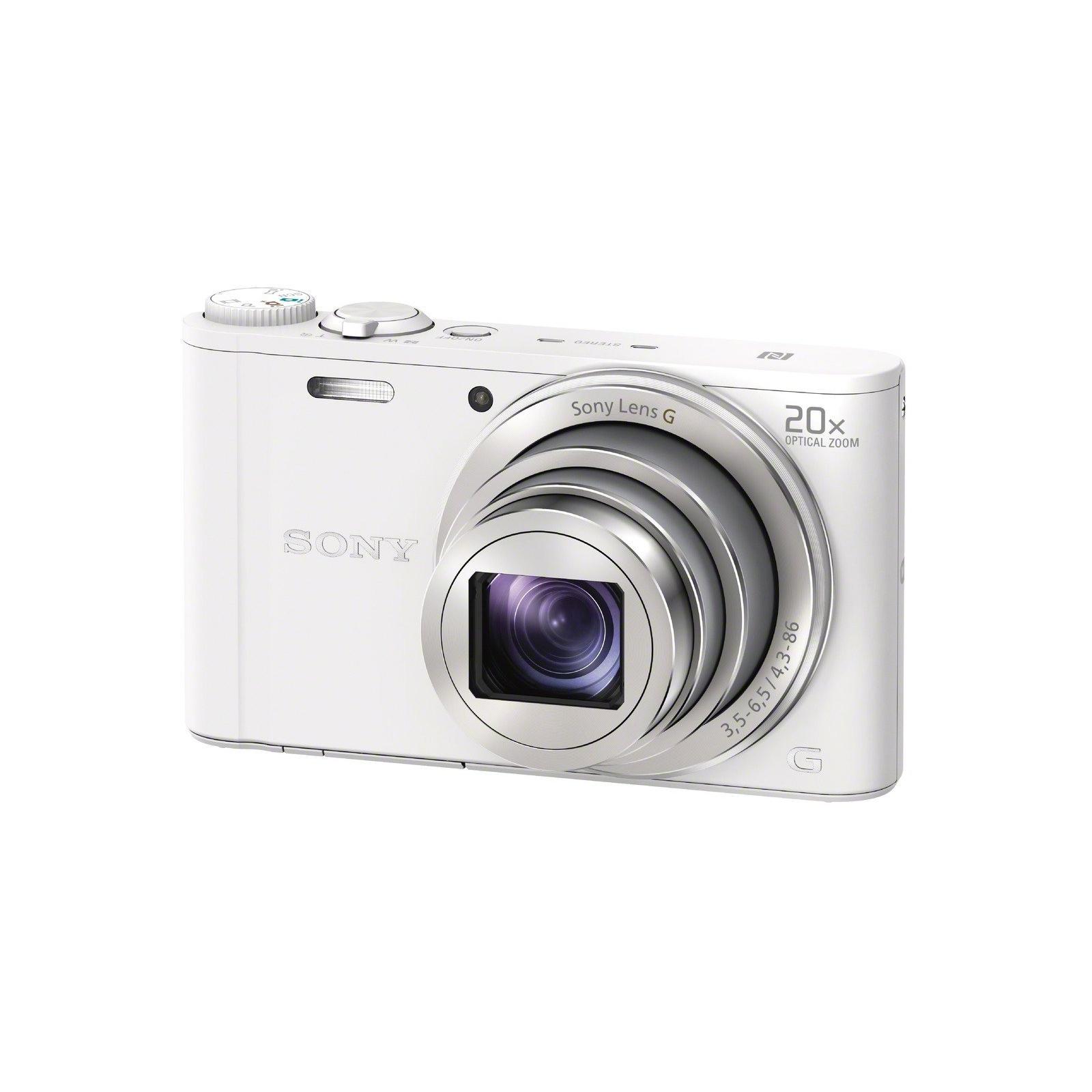 Цифровой фотоаппарат SONY Cyber-Shot WX350 White (DSCWX350W.RU3)