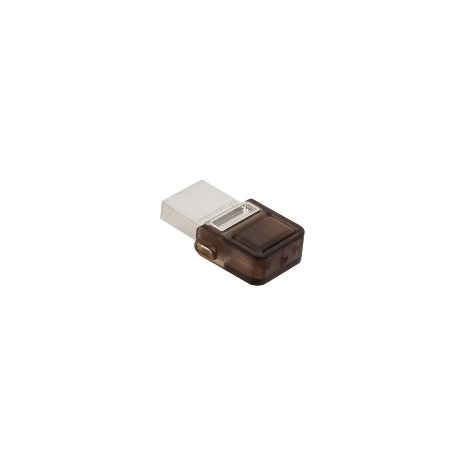 USB флеш накопитель Kingston 32Gb DT MicroDuo (DTDUO/32GB) изображение 2