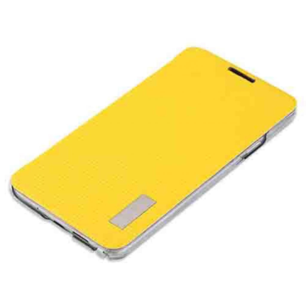 Чехол для моб. телефона Rock Samsung Note3 Neo New Elegant series lemon yellow (Note III NEO-62836)