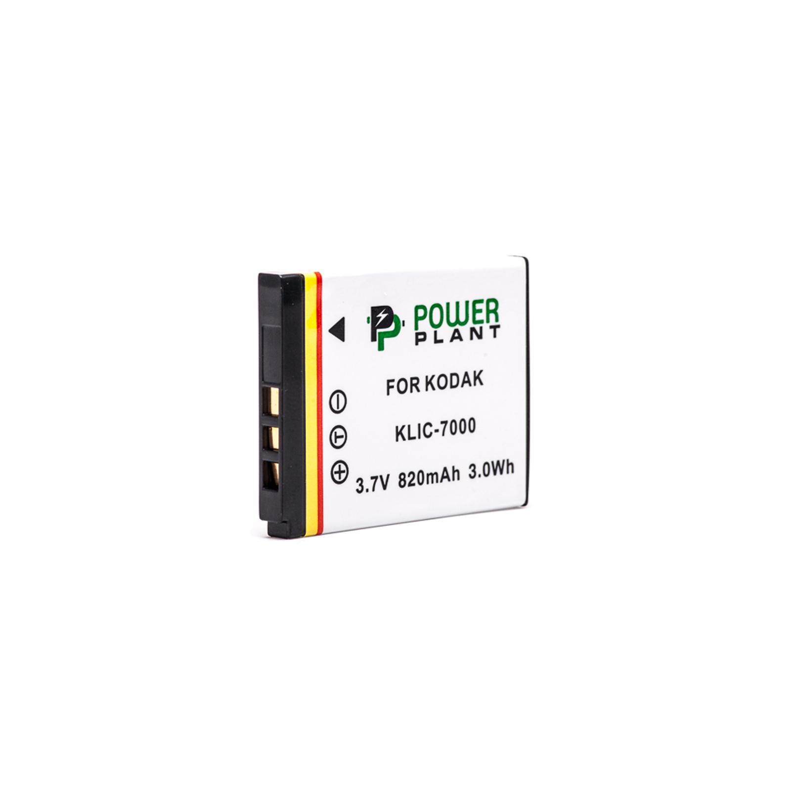 Аккумулятор к фото/видео PowerPlant Kodak KLIC-7000 (DV00DV1152) изображение 2