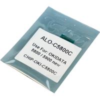 Чип для картриджа OKI C5850 CYAN 6K APEX (CHIP-OKI-5850-С)