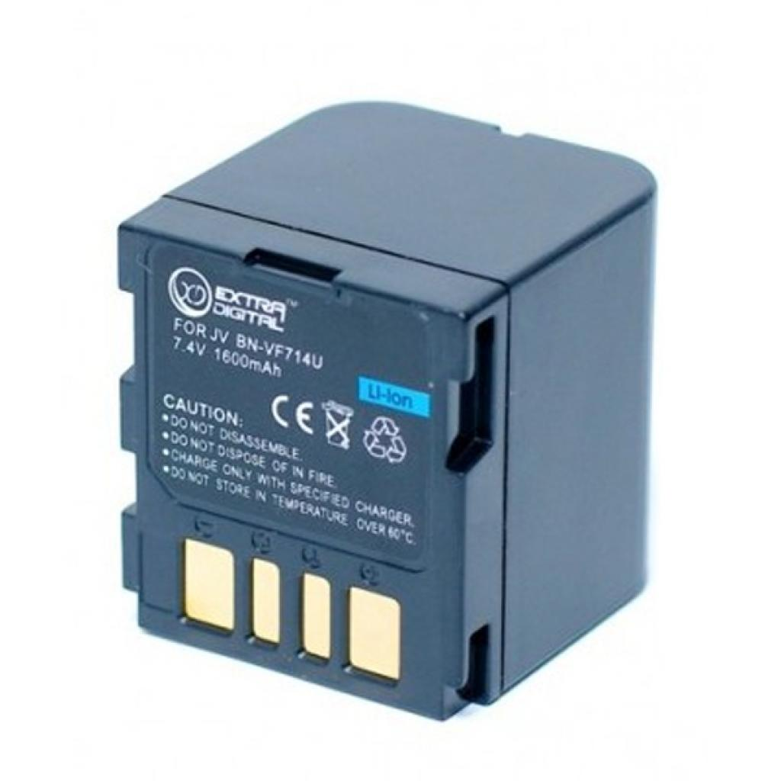 Аккумулятор к фото/видео EXTRADIGITAL JVC BN-VF714U (DV00DV1179) изображение 2