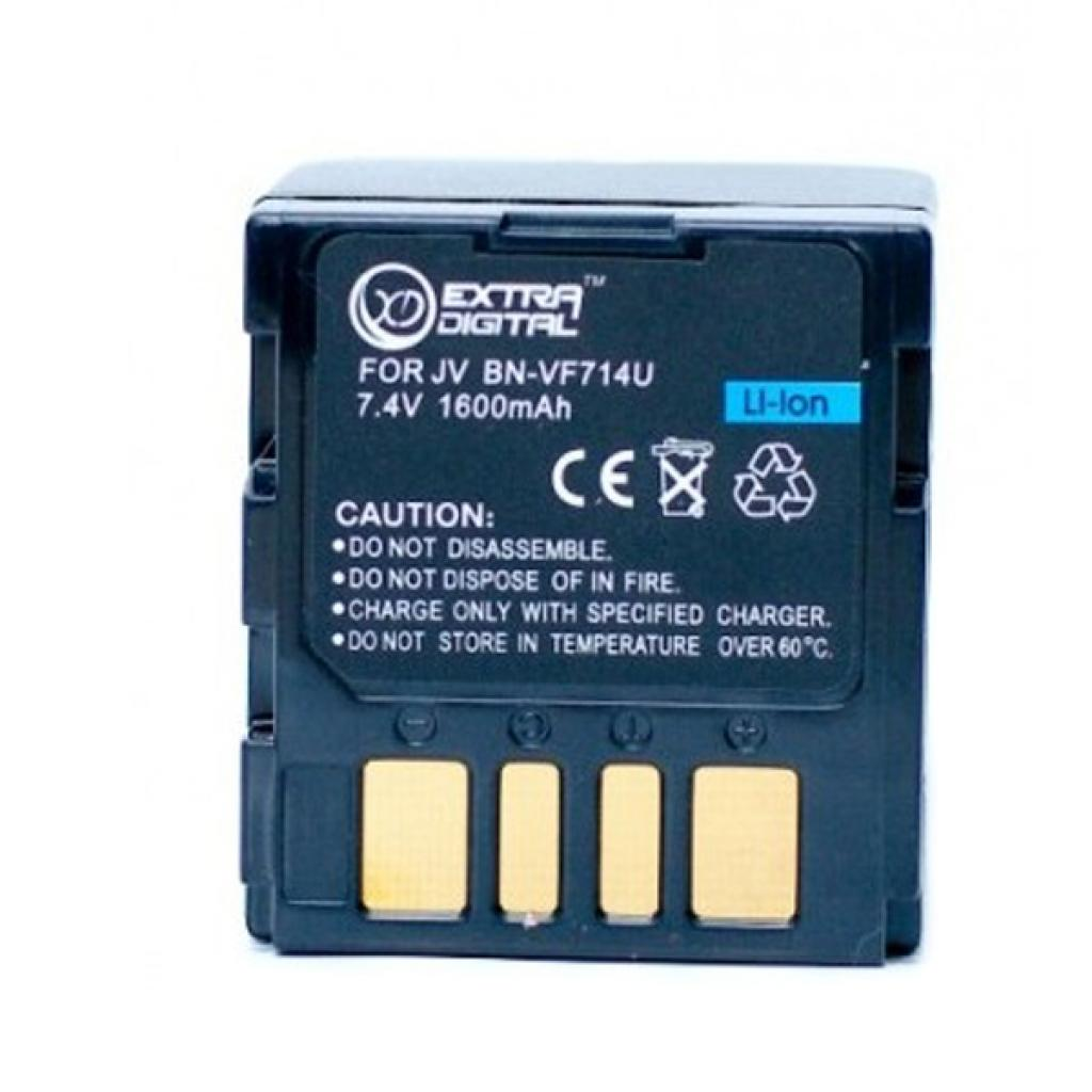 Аккумулятор к фото/видео EXTRADIGITAL JVC BN-VF714U (DV00DV1179)