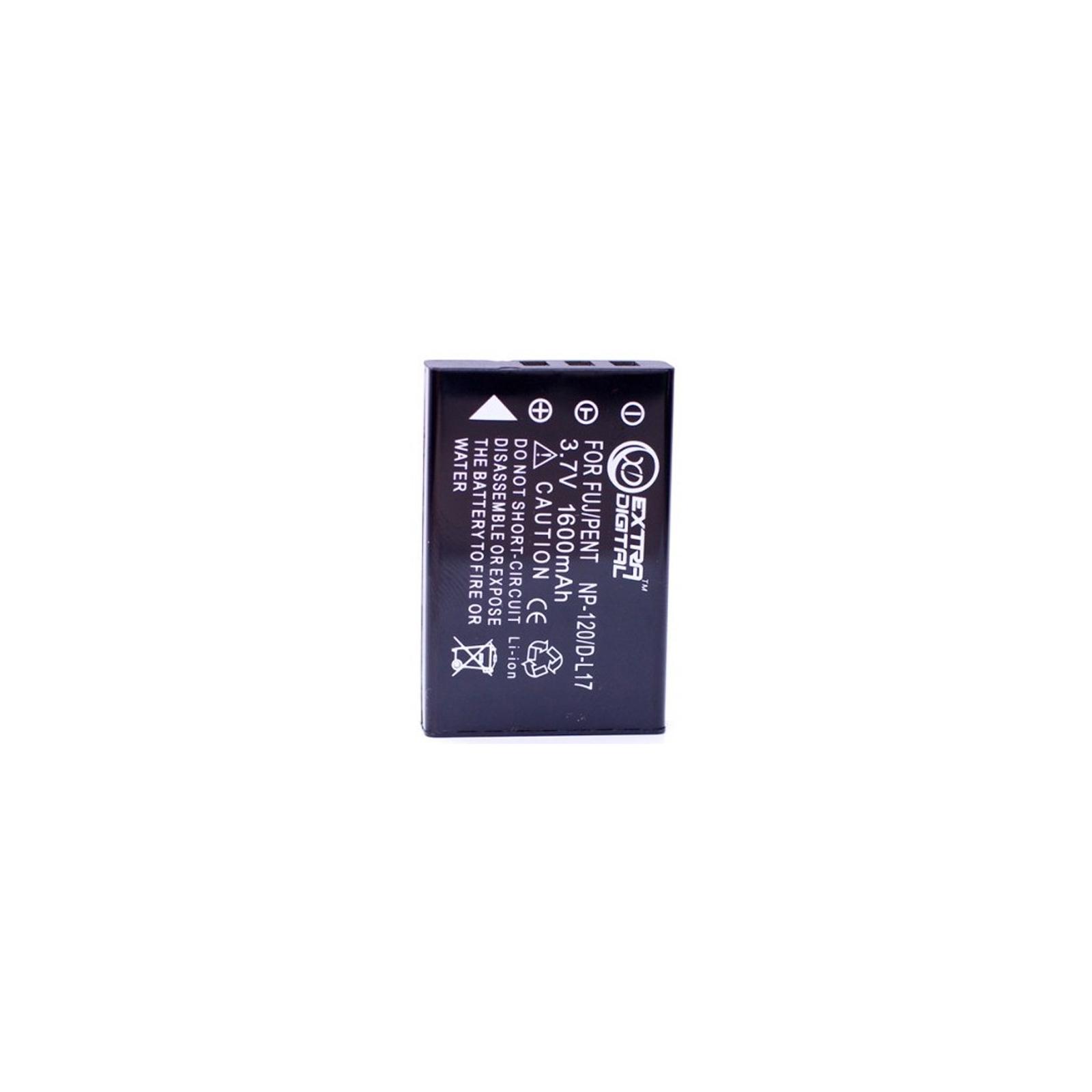 Аккумулятор к фото/видео EXTRADIGITAL Pentax D-LI7 (DV00DV1350)