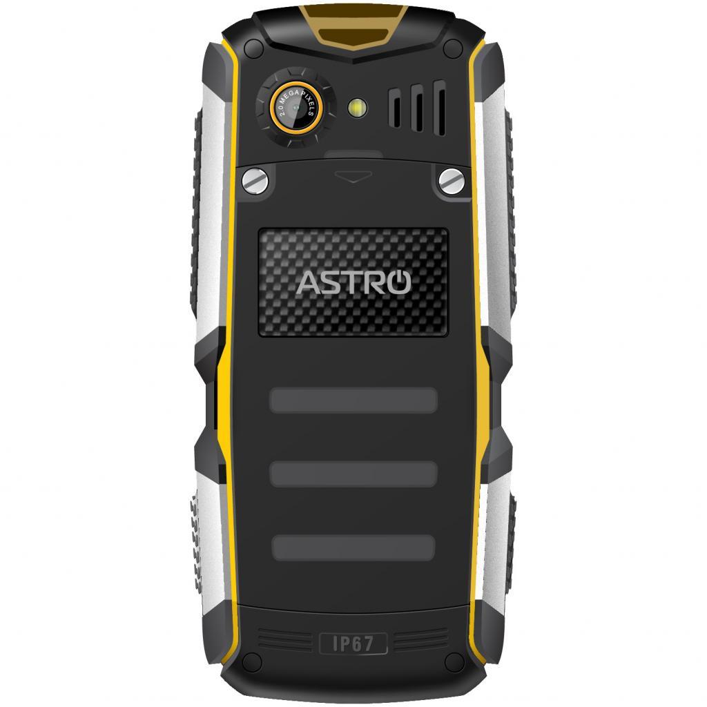 Мобильный телефон Astro A200 RX Black Yellow изображение 2