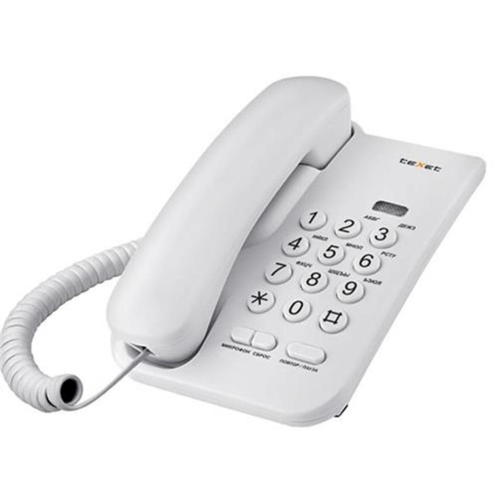 Телефон TEXET TX-212 Light-Grey (TX-212)