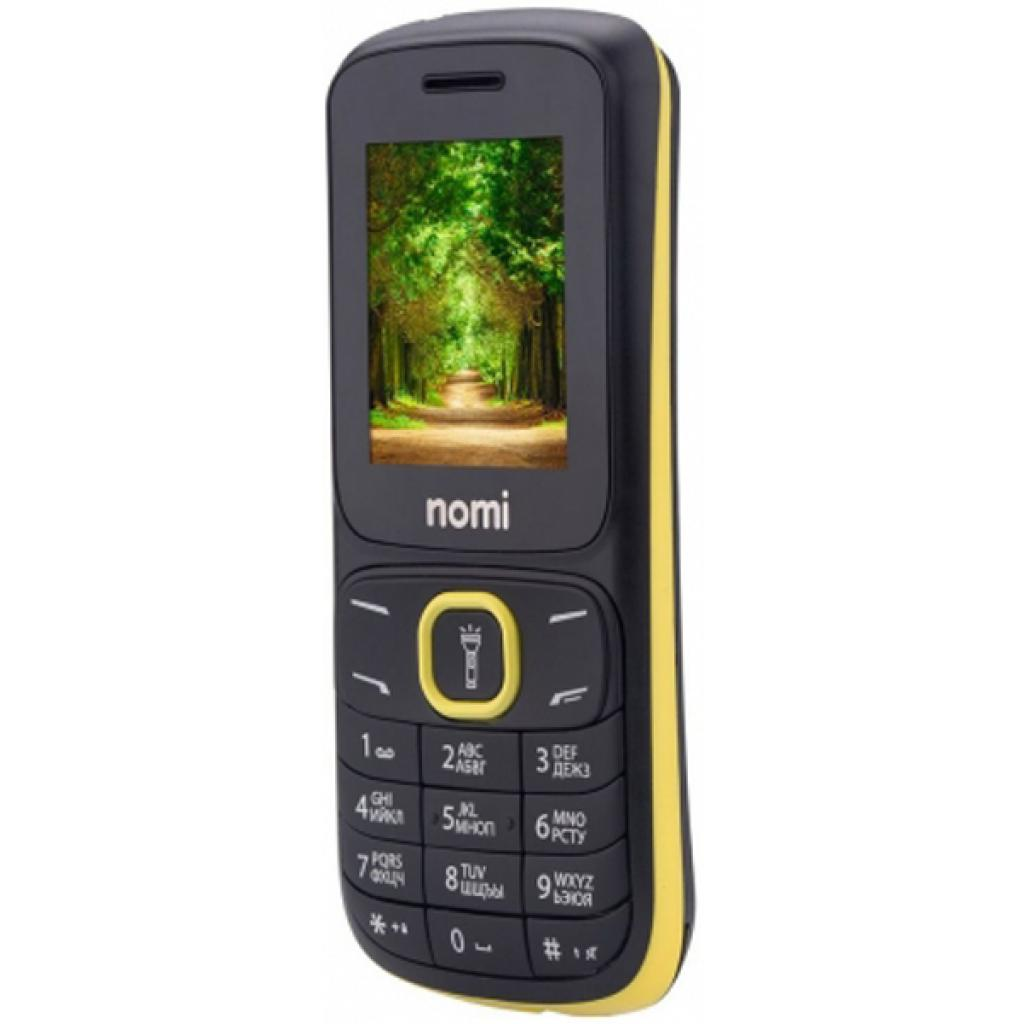 Мобильный телефон Nomi i183 Black-Yellow изображение 5