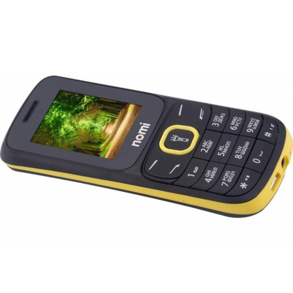 Мобильный телефон Nomi i183 Black-Yellow изображение 9