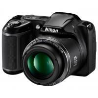 Цифровой фотоаппарат Nikon Coolpix L340 Black (VNA780E1)