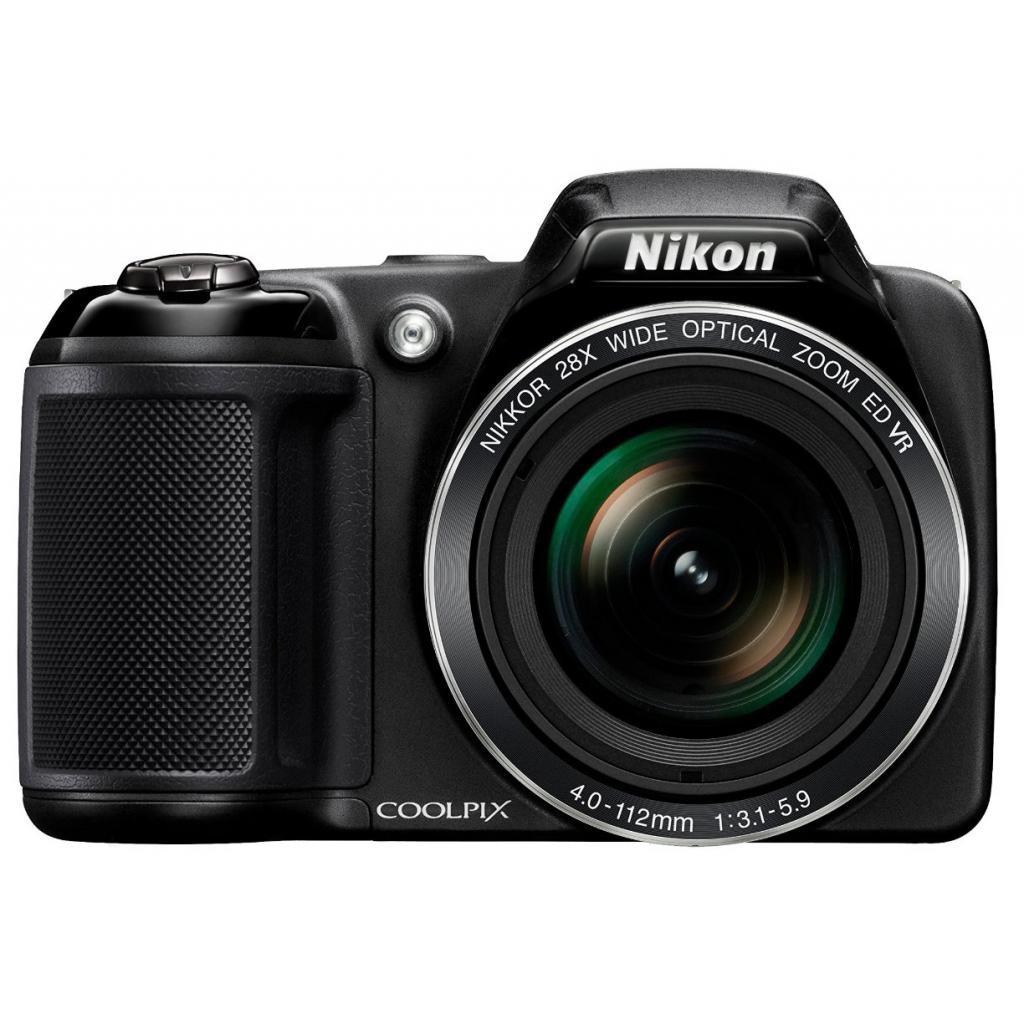 Цифровой фотоаппарат Nikon Coolpix L340 Black (VNA780E1) изображение 2