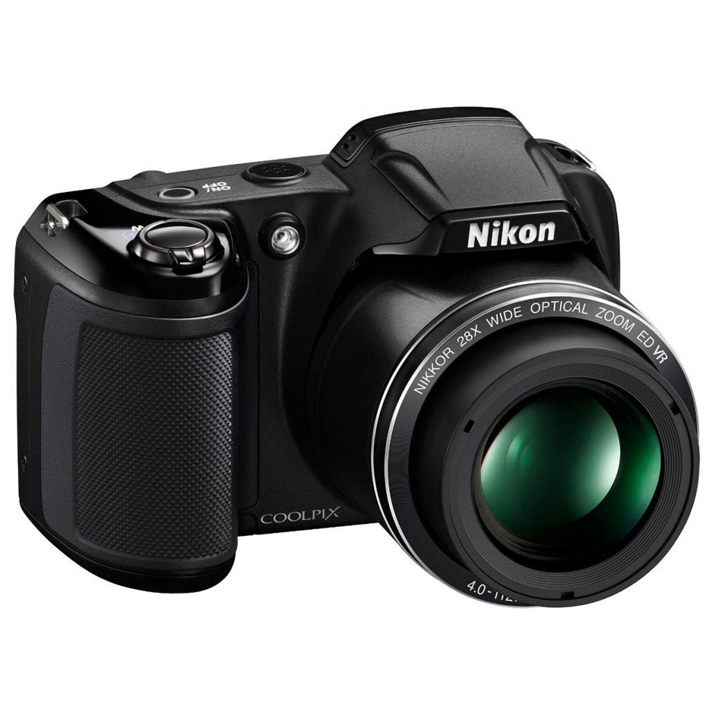 Цифровой фотоаппарат Nikon Coolpix L340 Black (VNA780E1) изображение 3