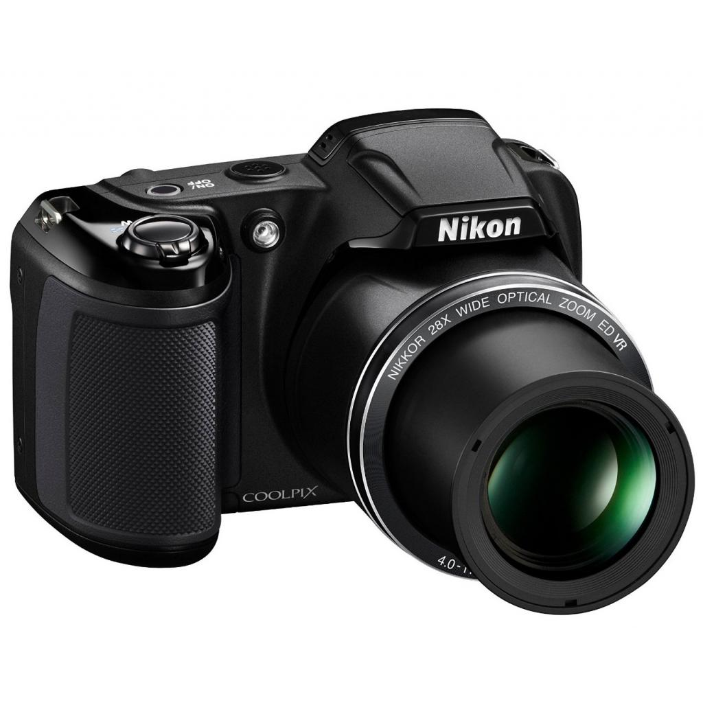 Цифровой фотоаппарат Nikon Coolpix L340 Black (VNA780E1) изображение 5