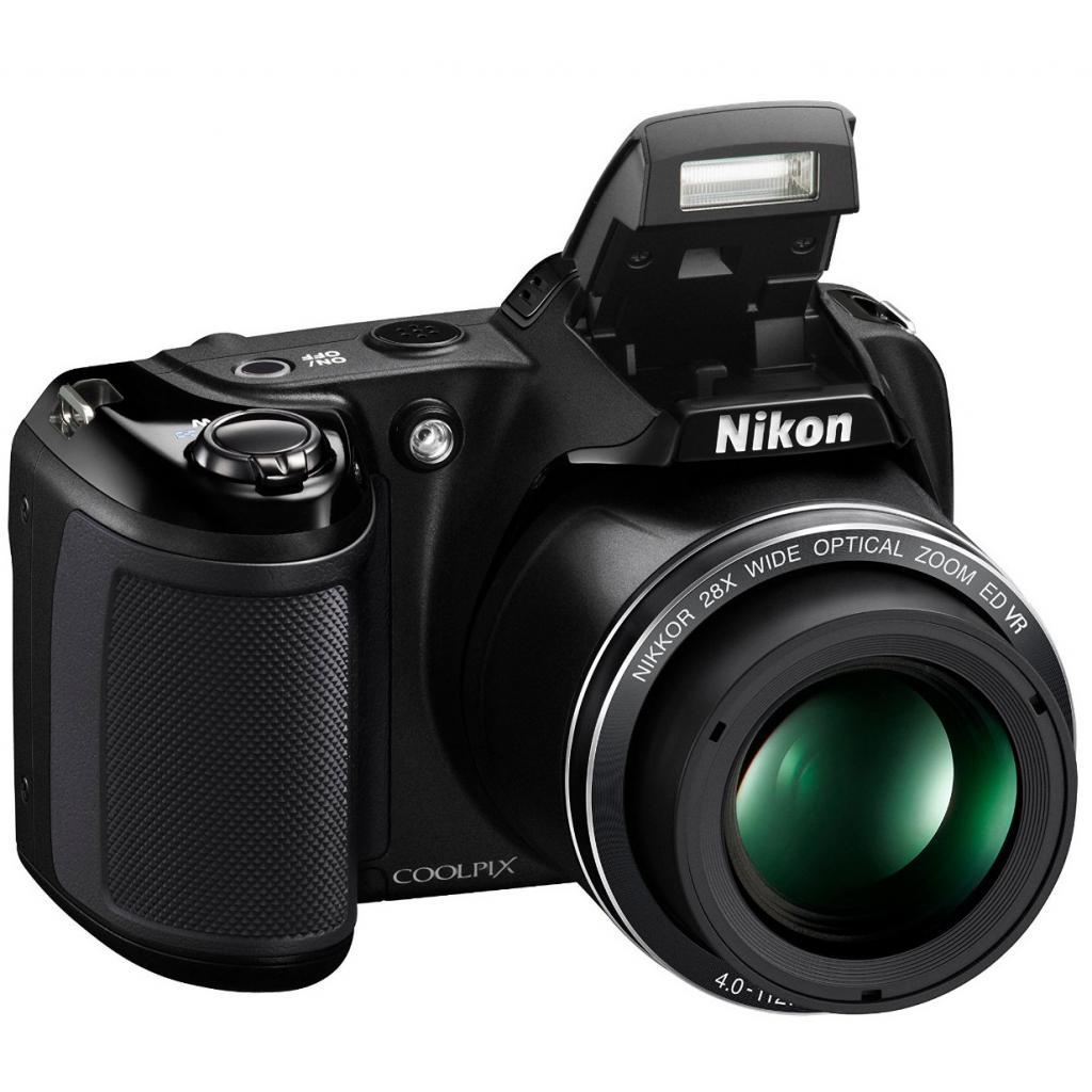 Цифровой фотоаппарат Nikon Coolpix L340 Black (VNA780E1) изображение 6