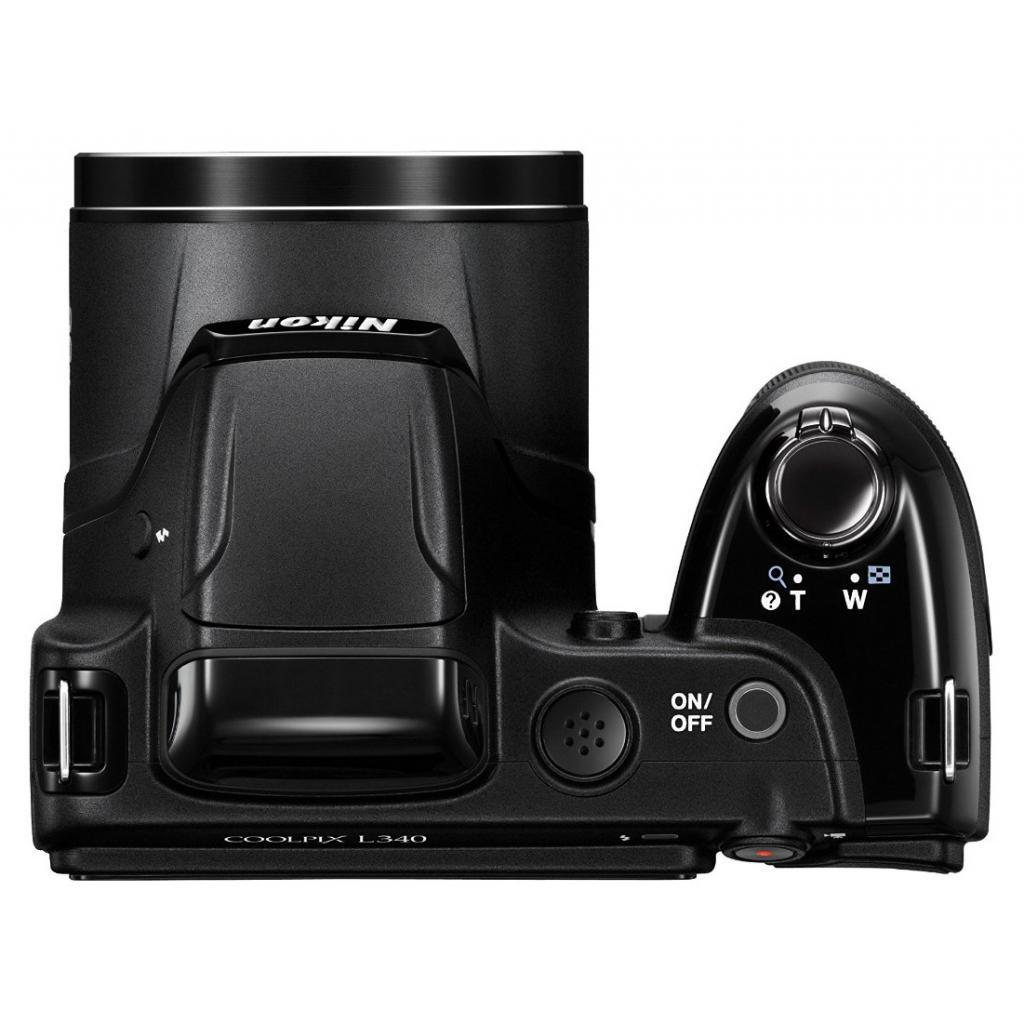 Цифровой фотоаппарат Nikon Coolpix L340 Black (VNA780E1) изображение 7