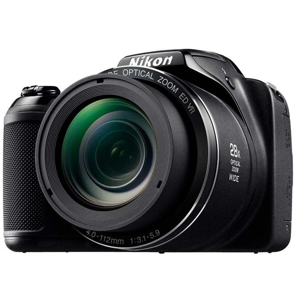 Цифровой фотоаппарат Nikon Coolpix L340 Black (VNA780E1) изображение 9